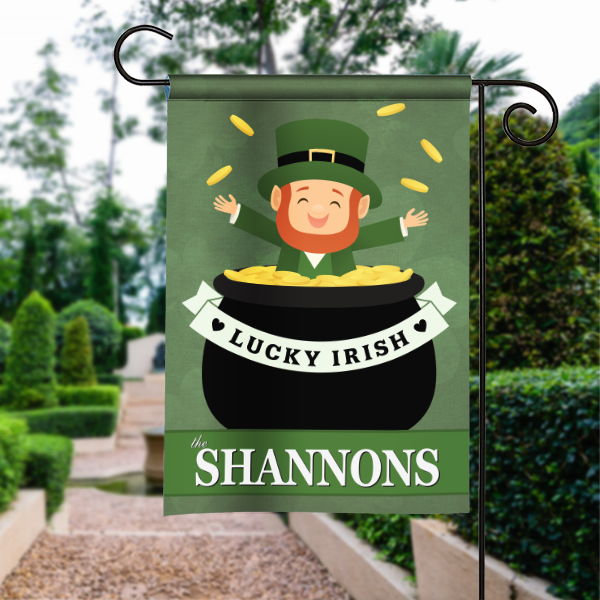 Luck O the Irish St Patricks Day Design Personalized House